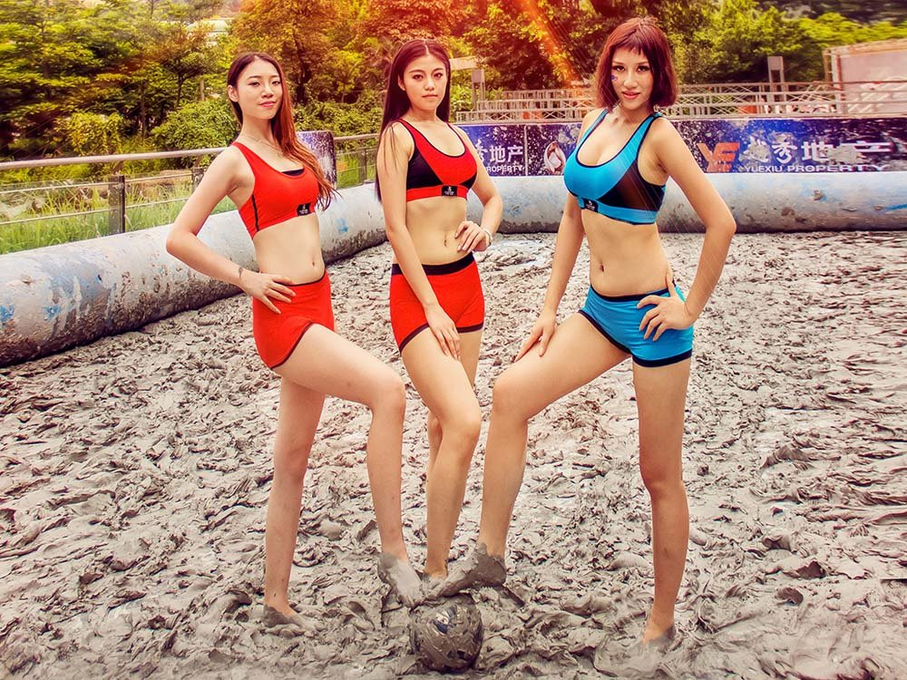 Casland-Casland Bra News | Ecological mud universal football competition-6
