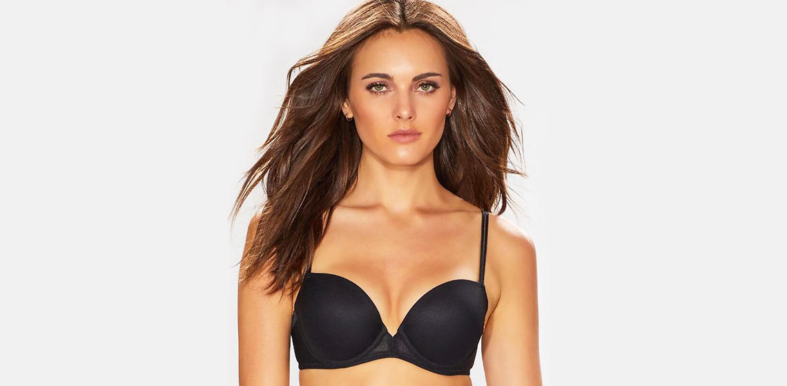 double push up bra underwire shirt Casland Brand