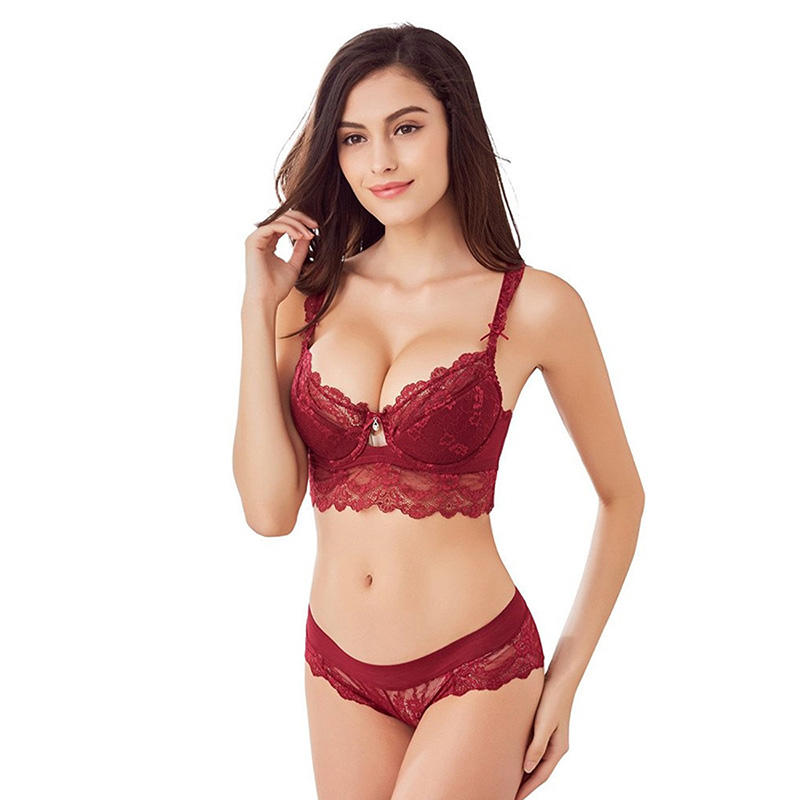 professional transparent bra and panty women series for ladies