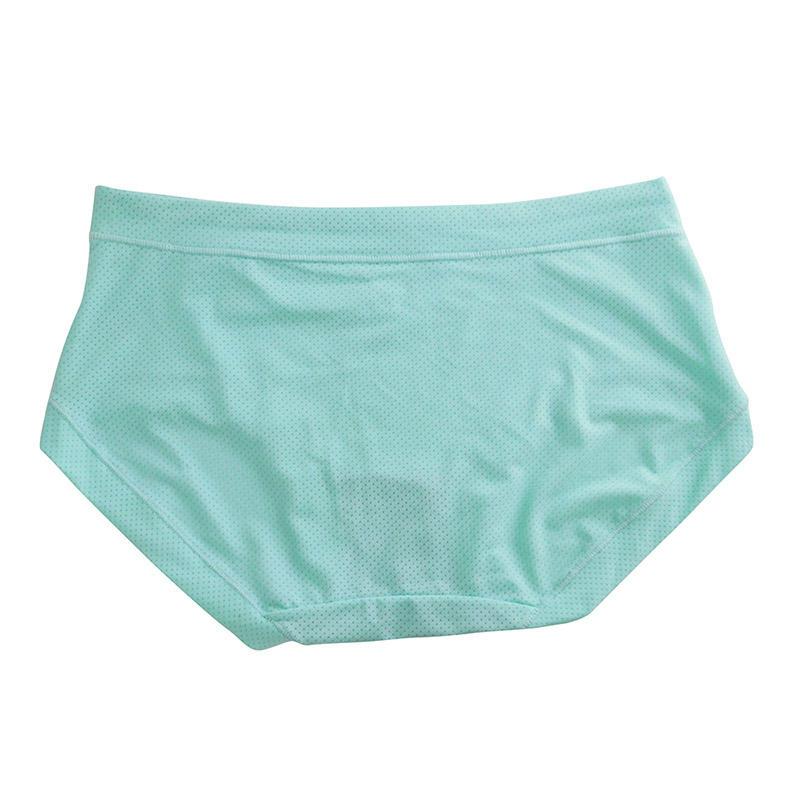 Organic cotton women panty  cs888-3