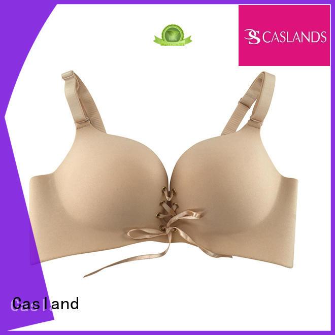 front wireless push seamless padded bra Casland Brand