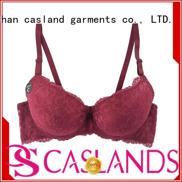 Hot comfortable double push up bra lace Casland Brand