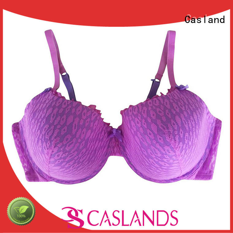 Casland high quality plus size underwire bras supplier for women