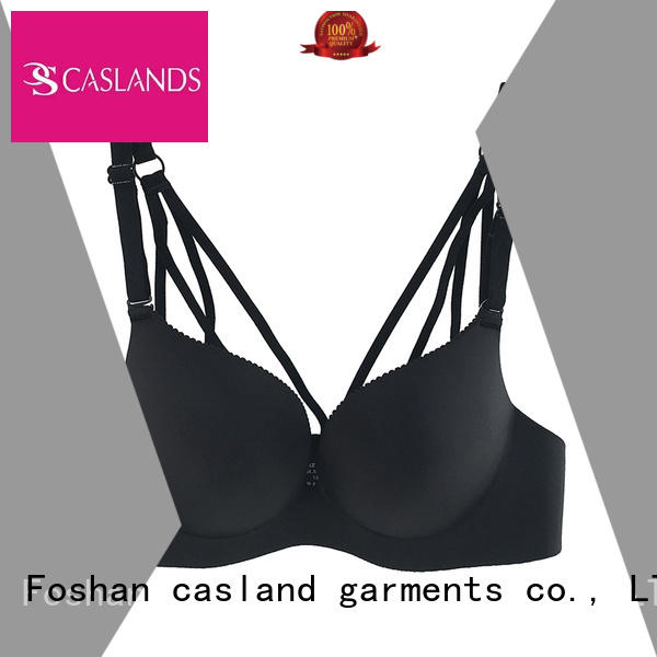 Casland Brand back closure seamless padded bra enclosure supplier
