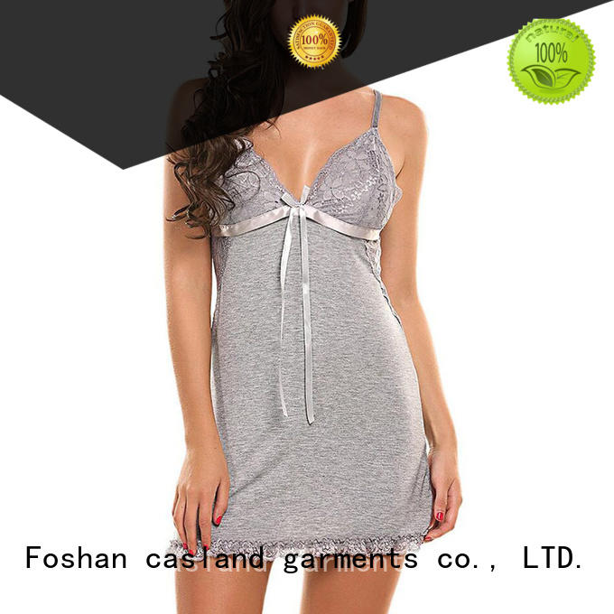high quality sleeveless cotton nightgowns sleepwear series for girls