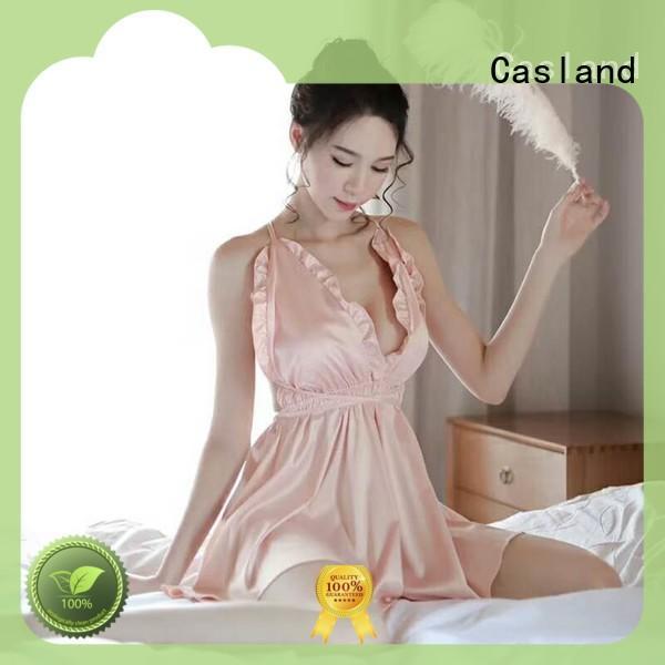 comfortable women's silk sleepwear slip supplier for women