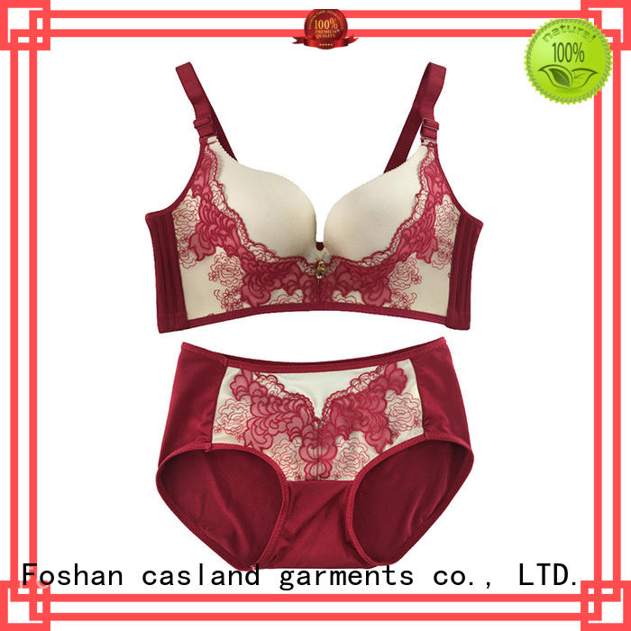 bandage closure lace front wireless bras Casland