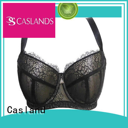 Quality Casland Brand plus size front closure bras quality
