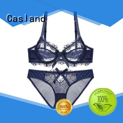 Casland Brand lace push fancy bralette manufacture