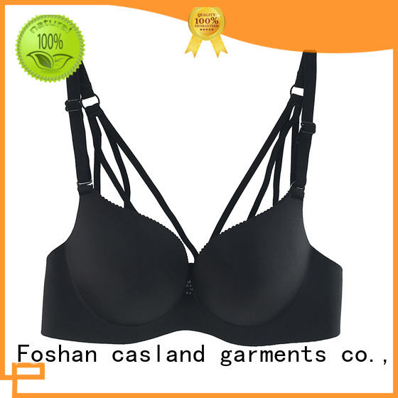 high quality wirefree push up bra cross series for women