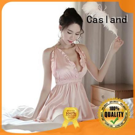 Casland High-quality silk sleeping gown Suppliers for ladies