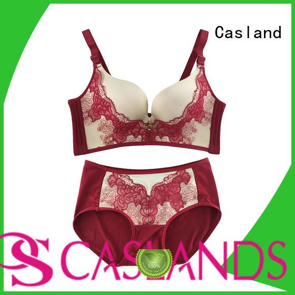 wireless lace enclosure seamless padded bra Casland Brand