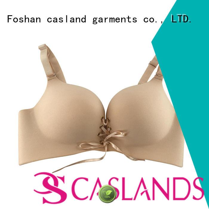 seamless padded bra lace enclosure wireless bras Casland Brand