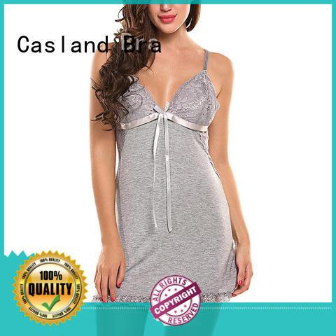 Casland durable cotton sleep dress manufacturer for women