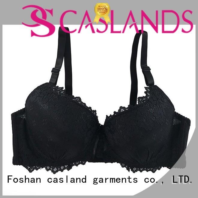 Custom lightly padded bra lace company for ladies