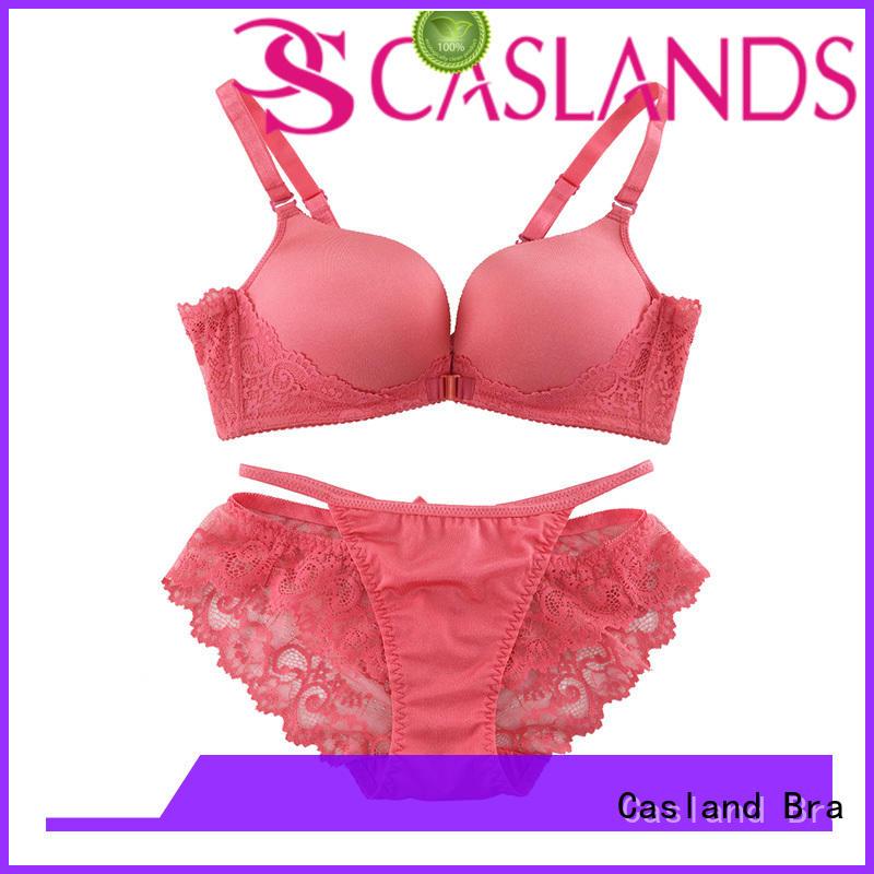 back wireless bras enclosure lace Casland company