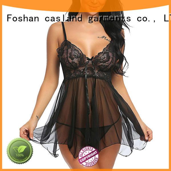 Casland sheer sex lingerie supplier for ladies