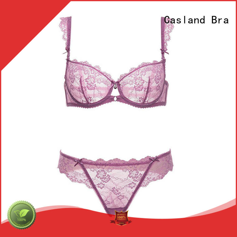 Casland style lace underwire bra series for ladies