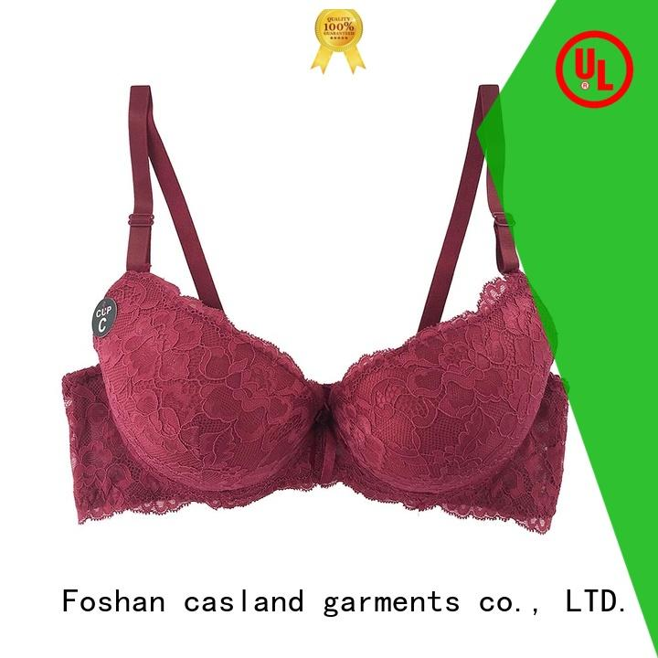 Top molded cup bra lace Suppliers for ladies