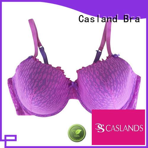 Custom thin sexy plus size bras Casland padded