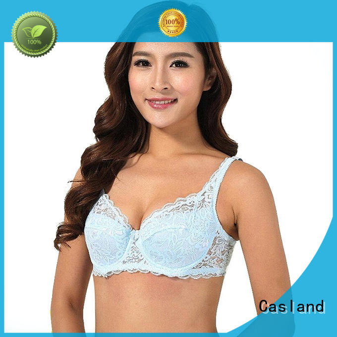Casland double wireless padded bra Suppliers for girls