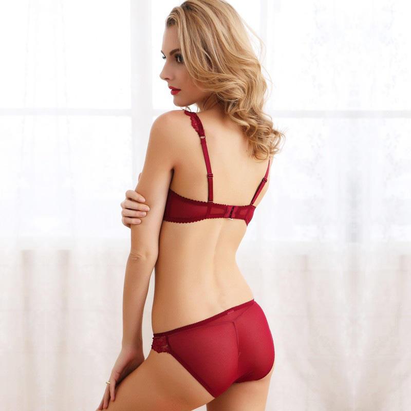 Custom hot bra set arrival company for ladies