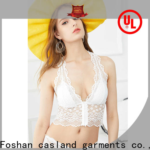 Casland comfortable transparent bra and panty set company for girls