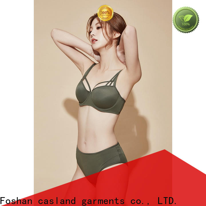 Casland High-quality transparent bra and panty Supply for women