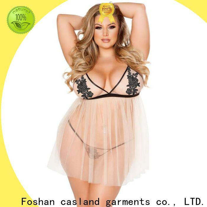 Latest plus size lingerie lingerie factory for ladies