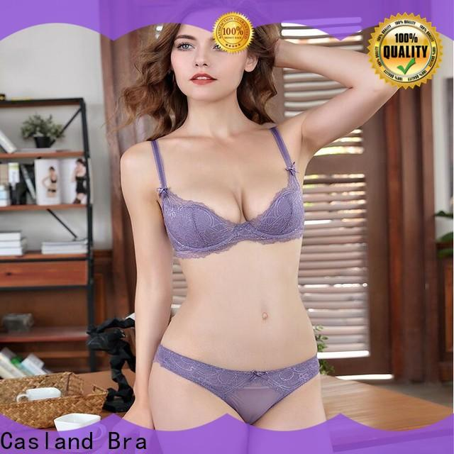 Wholesale lace bra and panty set brassiere Supply for ladies