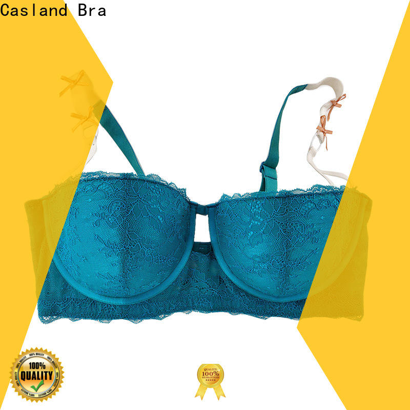 Top wide strap bras soft manufacturers for women