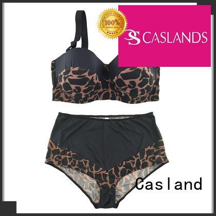 Casland Brand panty push transparent custom plus size front closure bras